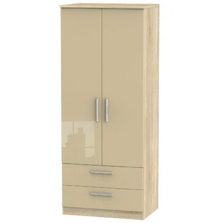 Knightsbridge Tall 2 Drawer Robe